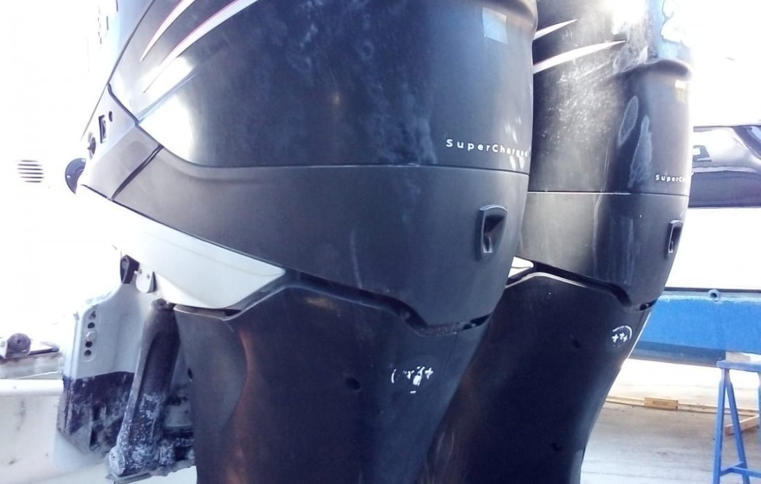 SACS S 34 OPEN + 2 x MERCURY VERADO 250CV